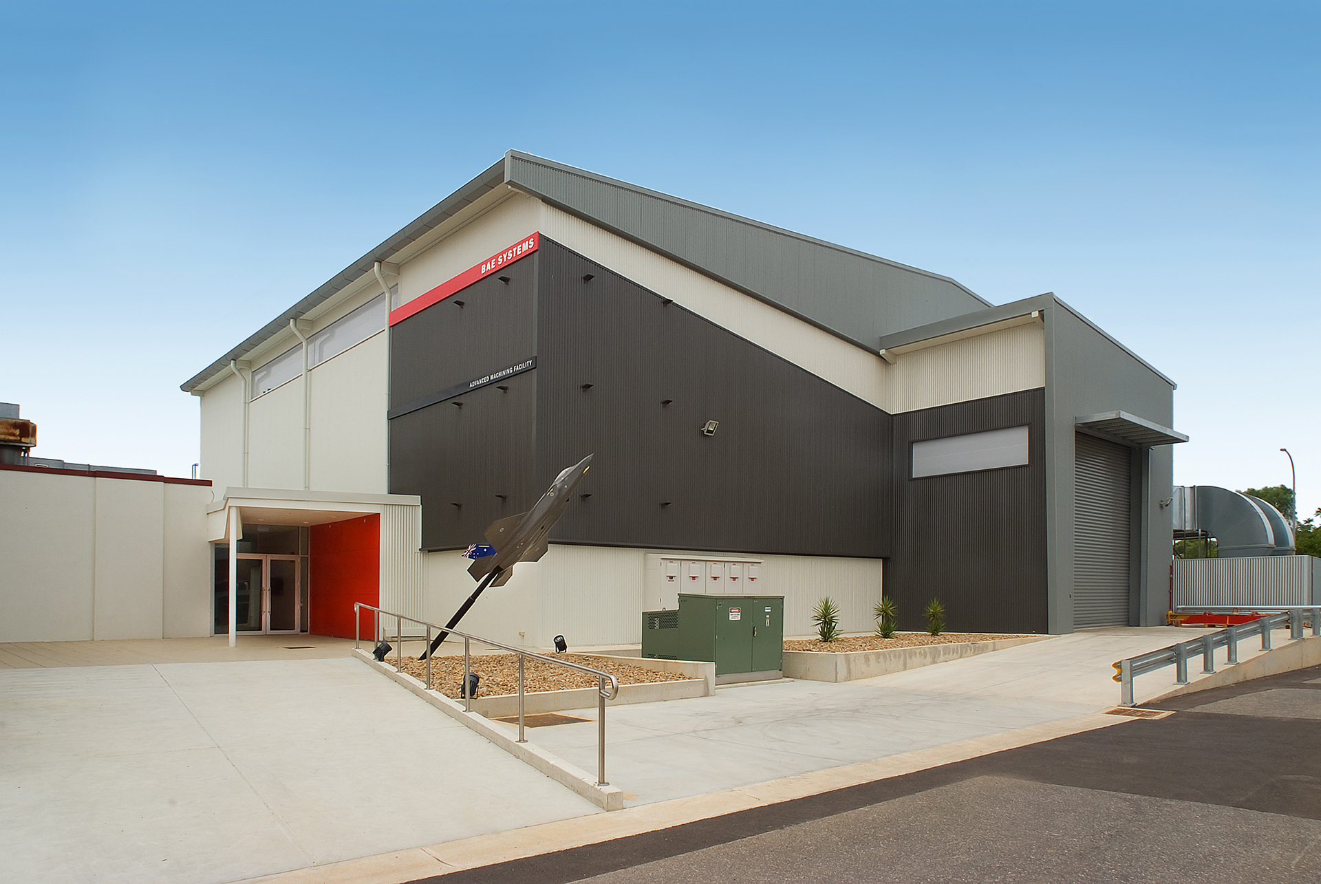 BAE Systems JSF F35 Titanium Machining Facility