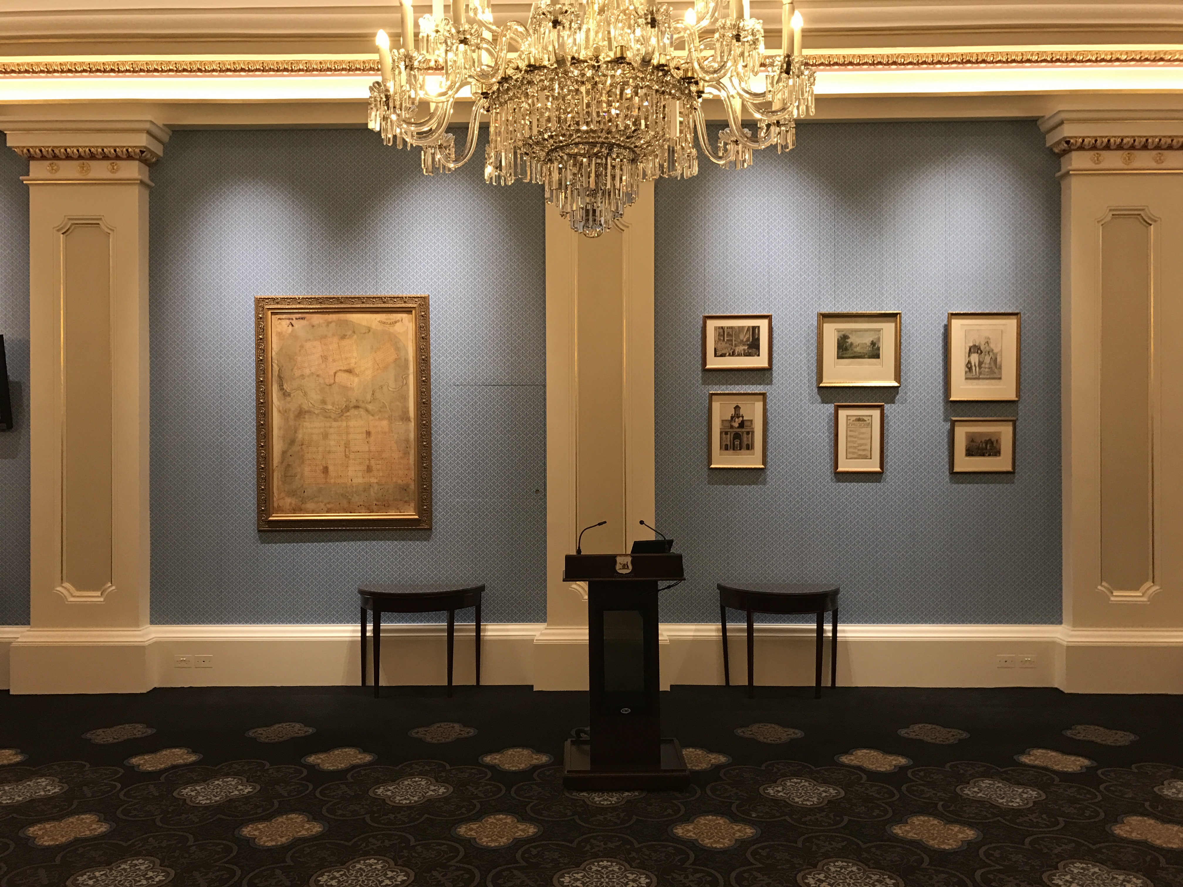 Queen Adelaide Room – Lighting Upgrade
